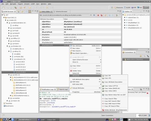 Работаем с LDAP
