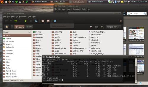 Linux на Dell Mini 9