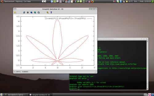 Ubuntu, GNU Plot