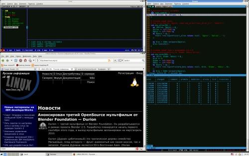 Asus X51L :: FreeBSD 7.2 + XFCE + screen