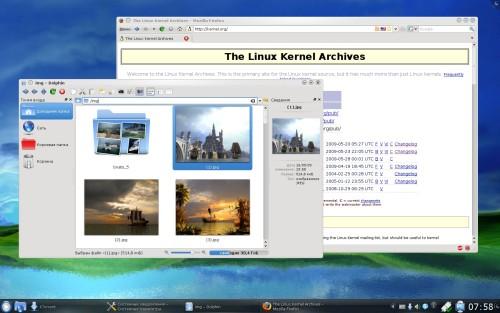 Kubuntu 9.10 Альфа1