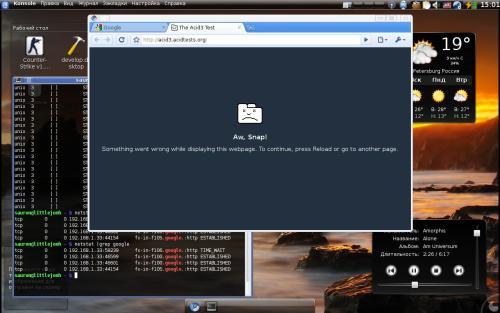 Google Chromium в Gentoo