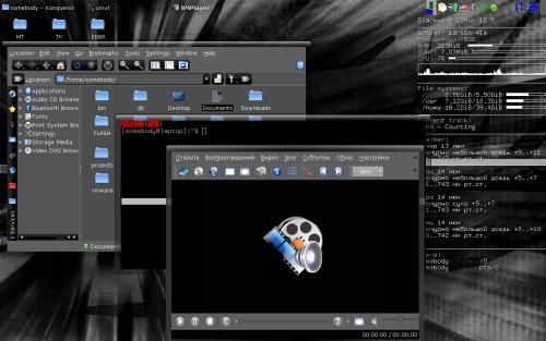 KDE 3.5.10 и пофиг, что старые