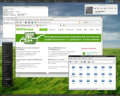 MOPSLinux 6.2.x - OpenBOX 3