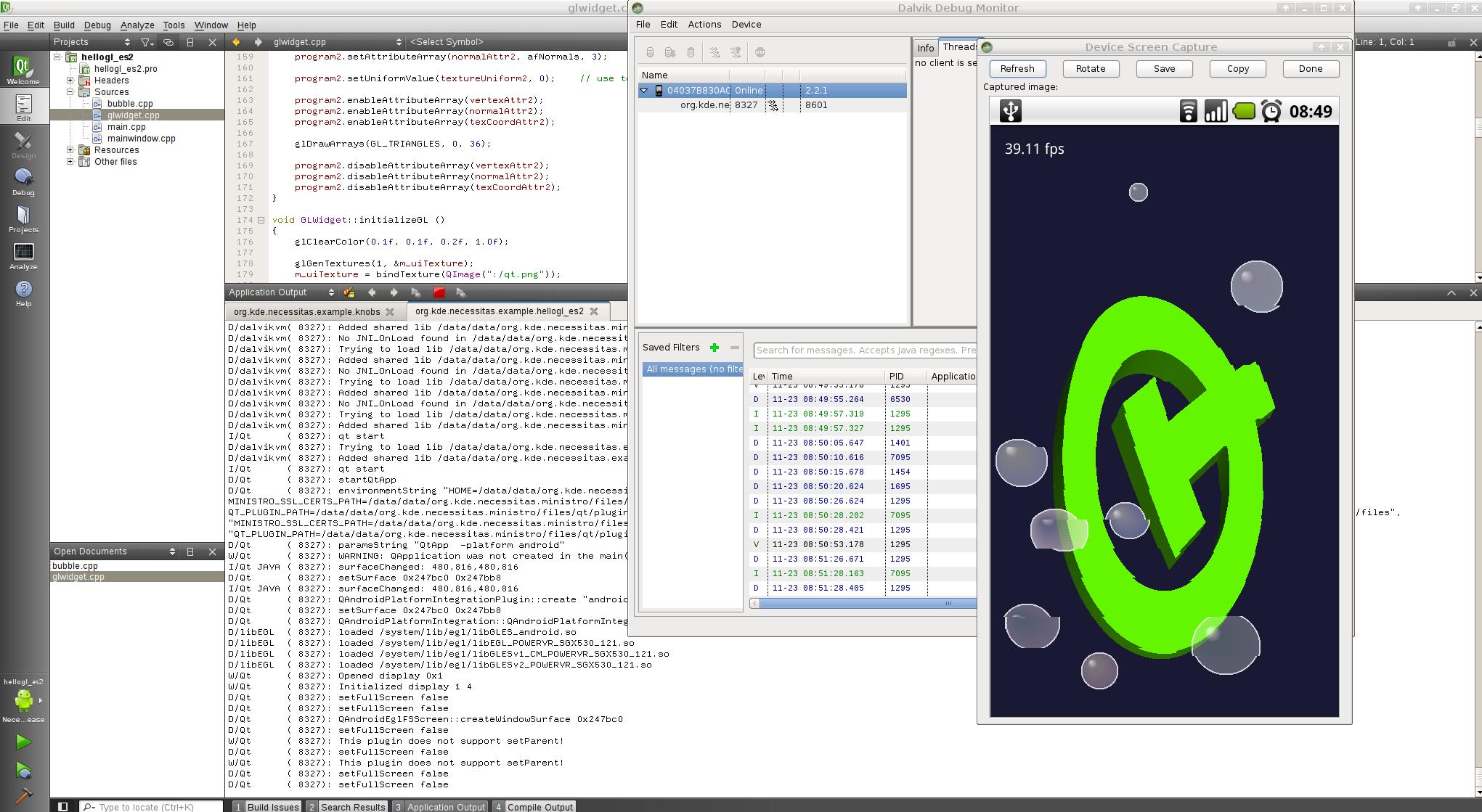 Разработка на qt для android иллюстрация с сайта
