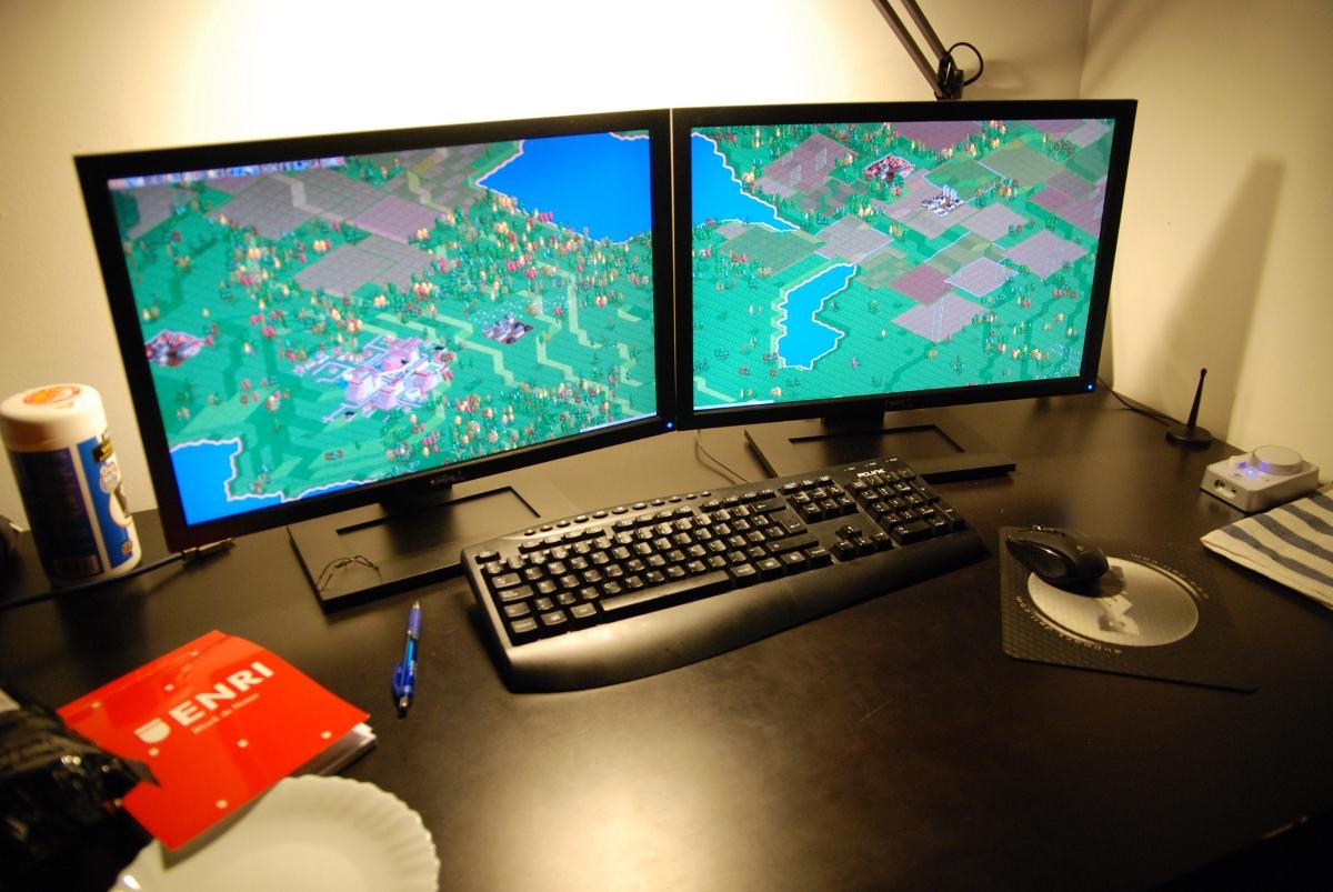 картинка на второй монитор для рабочего стола