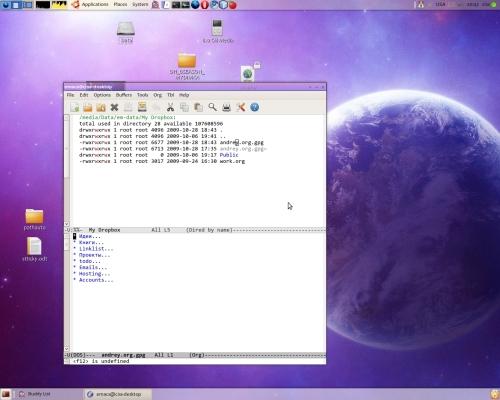 ubuntu + emacs