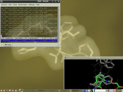 Молекулярно моделируем по-тихоньку