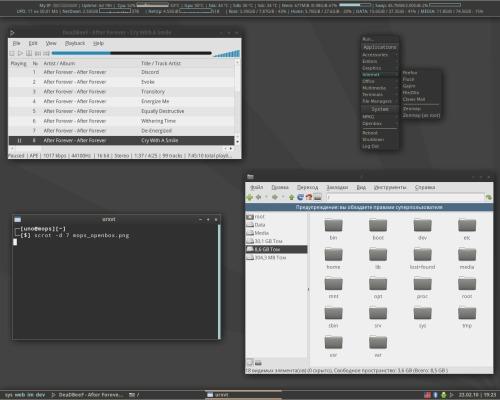 MOPSLinux + Openbox