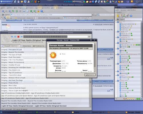 KDE+XFWM