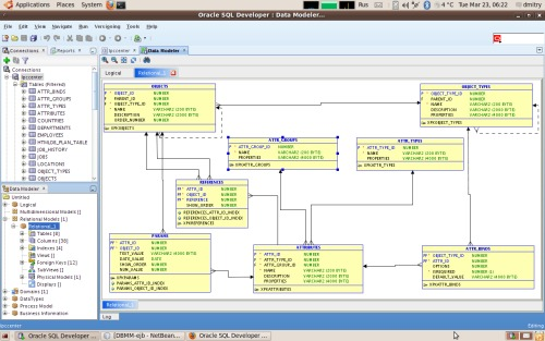 Oracle SQL Developer 2.1.1, Data Modeler Viewer Plugin