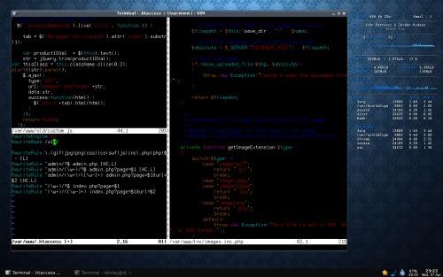 Arch^W Debian + openbox