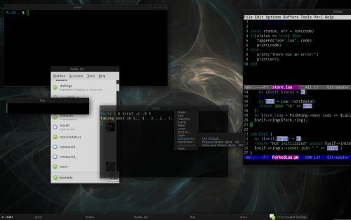 Debian + Fluxbox