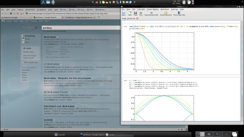 Математический KDE