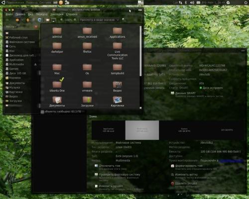 Ubuntu 10.04 Прозрачность, размытие окон.