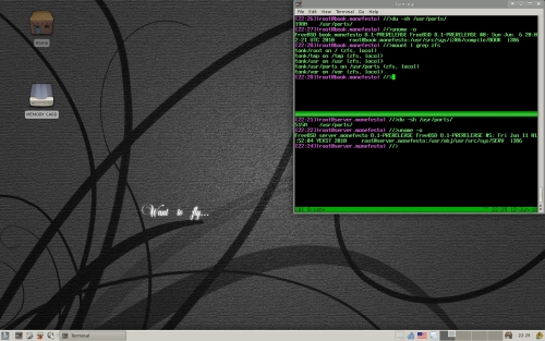 ZFS on FreeBSD desktop