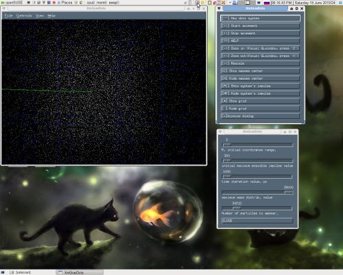 поделка на C: openGL + openmotif