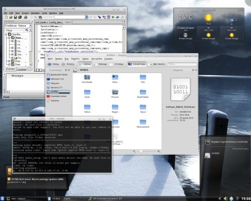 И опять KDE4