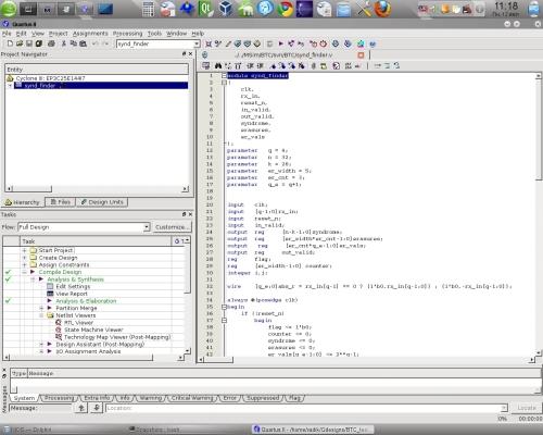 Quartus 10 под Linux - теперь на Qt