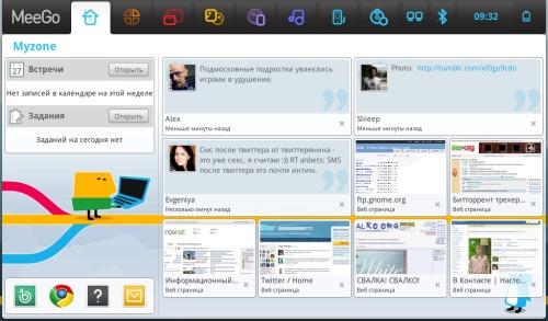 MeeGo 1.0.1 Asus eeepc 1001HA