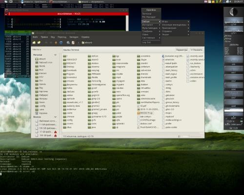Debian, openbox