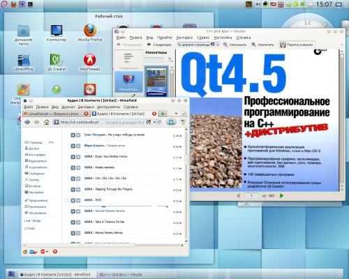 Debian Sid с KDE4