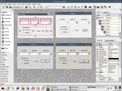 Qt designer 3.2.1