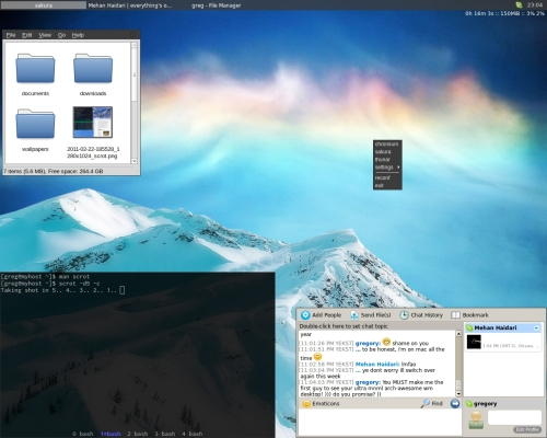 Скриншот: winter openbox