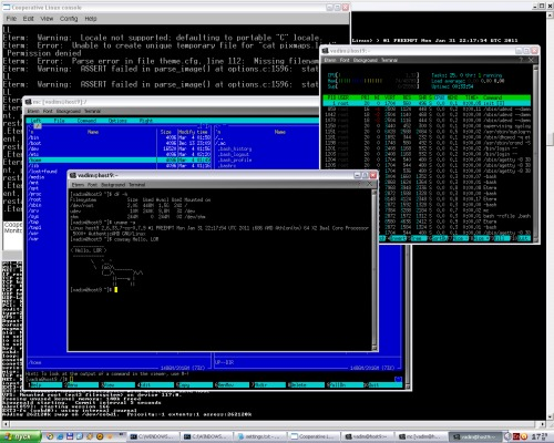 ArchLinux на ядре coLinux поверх Windows XP: экспресс-опингвинячивание винды
