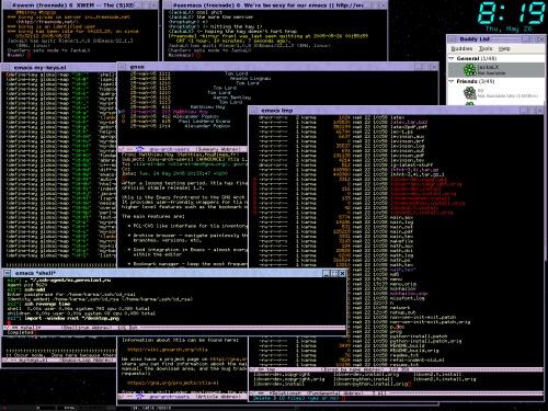 Emacs...