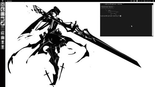 Монохромная Unity 2D