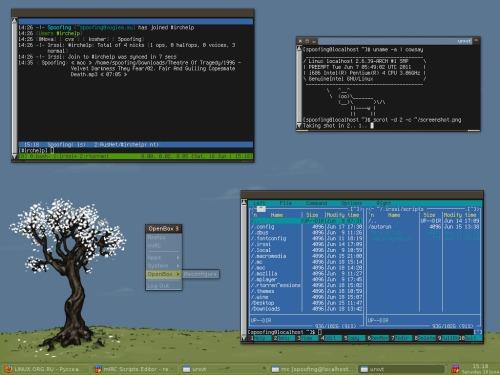 Arch и OpenBox. Мой первый линукс.