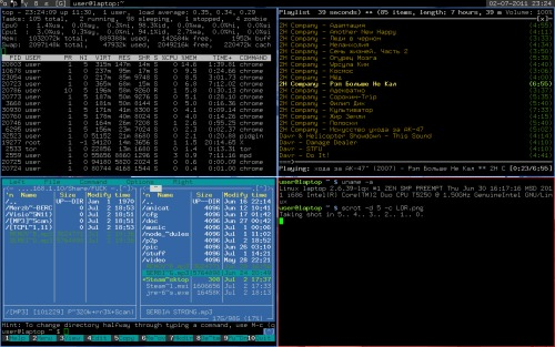 Arch Linux + DWM