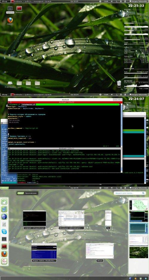 Debian Sid + Gnome 3.0.1