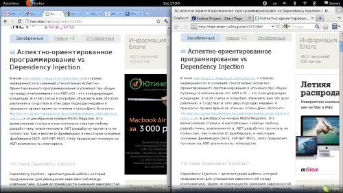 Сравнение шрифтов chrome vs firefox