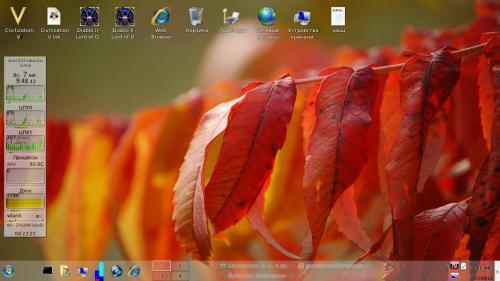Мирная Ubuntu 11.10 с KDE3