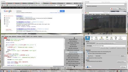 Slackware + XFCE + Compiz + Emerald