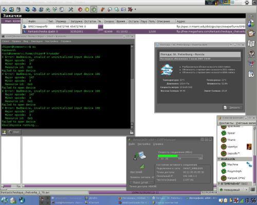 Настроенный KDE