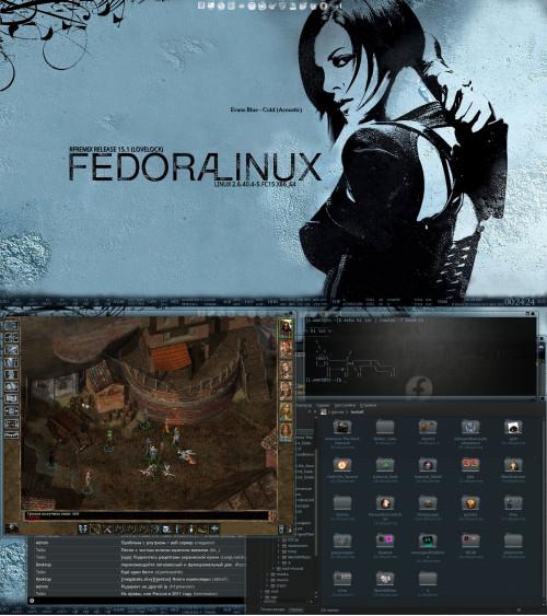 Восьмая Fedora