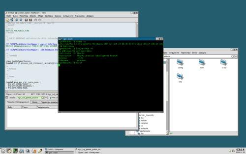 Закос KDE под KDE