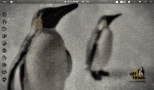 Нетбук под ALT Linux Tablet (Sisyphus)