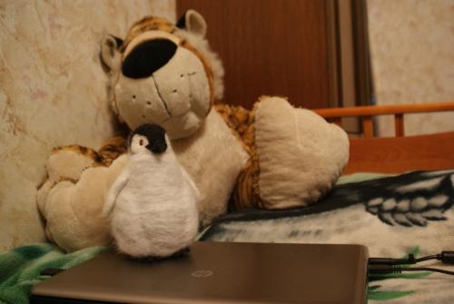 Пингвин сваленный