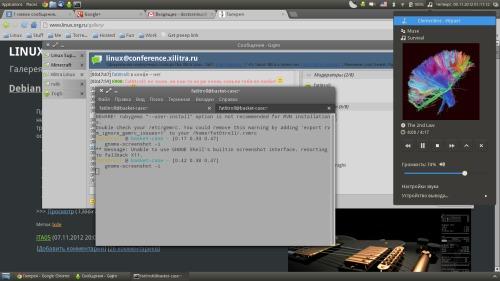 Десктоп типичного модератора 2012.10