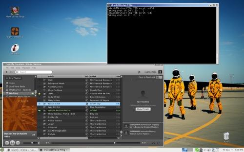 Arch Linux, Mate. Вендузятника.