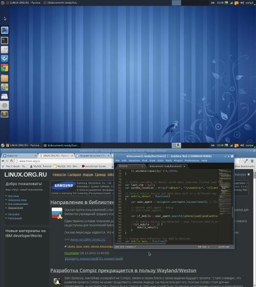 Fedora 17, XFCE 4.10