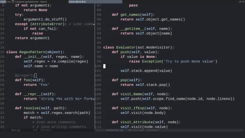 Няшный emacs