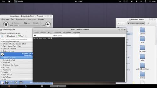 GNOME 3 на моём нетбуке )