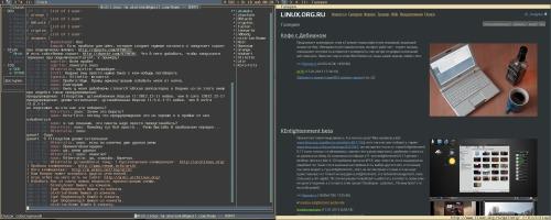 Archlinux + DWM = жду критику