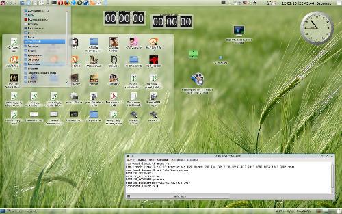 KDE4 Gnome2 style