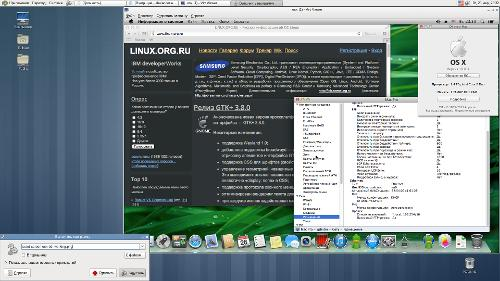 Arch Linux + OSX 10.8.3